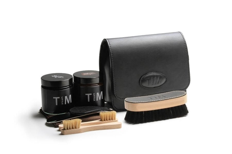 Tim Little shoe care kit