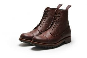 Smoking Gun in Dark Brown Calf Leather
