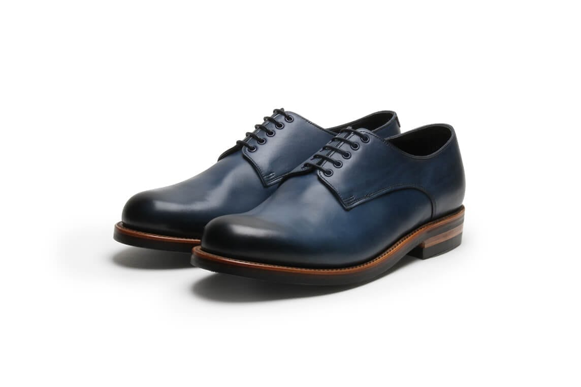 Catfish Blues in Midnight Blue Leather