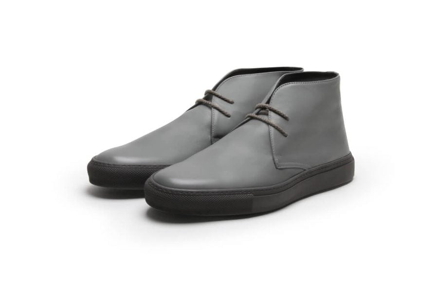 Pine Top Boogie in Grey Calf Leather