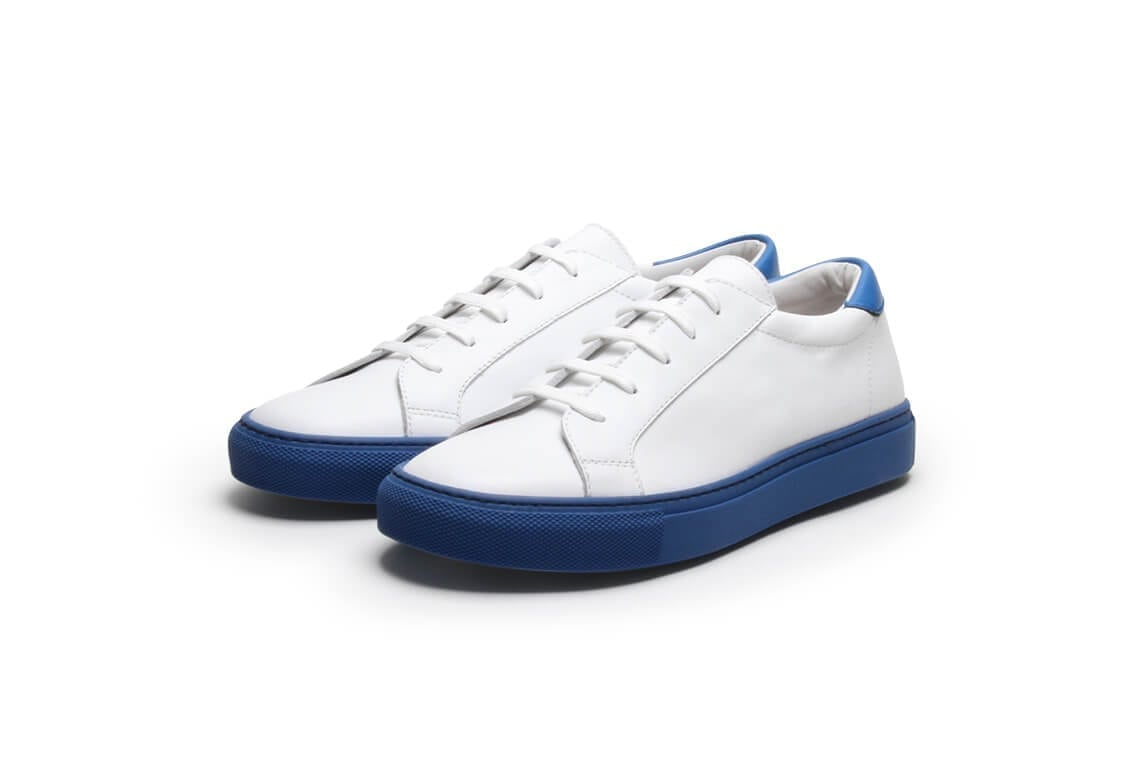 Women's Tennessee Blues in White Calf / Blue sole
