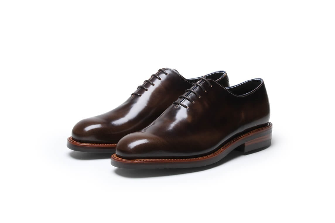 Black Sole 1 in Pickled Walnut Leather