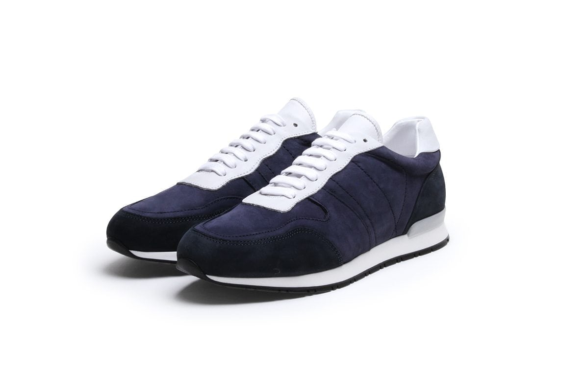 Key to the Highway Sneaker in Midnight Blue Nubuck