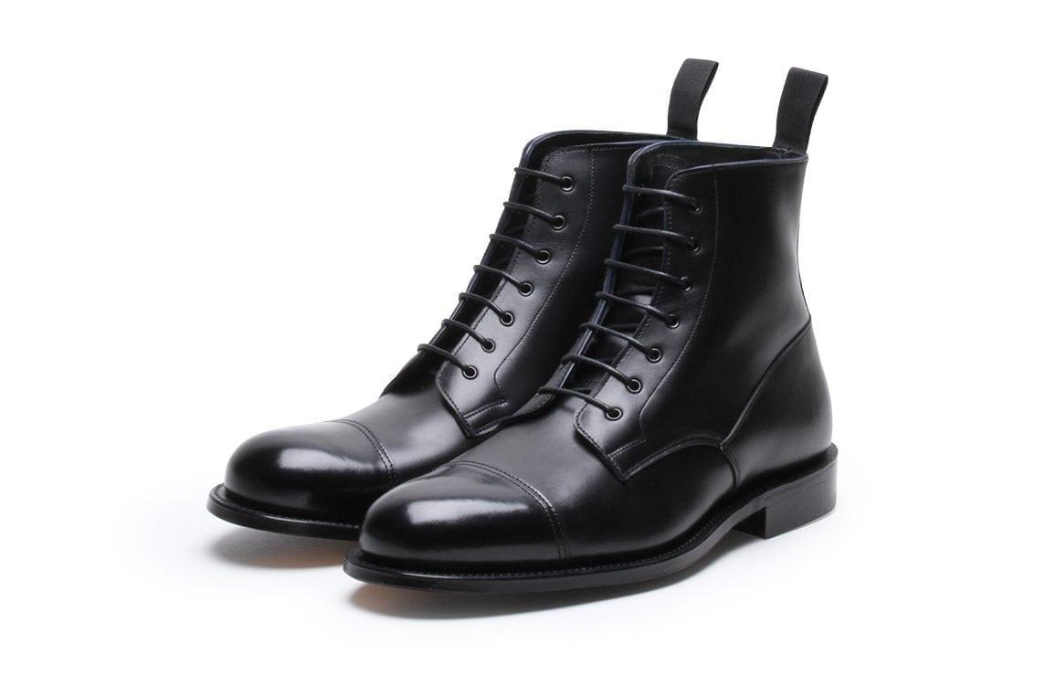 Highway 49 Black Calf Oxford Derby Boot